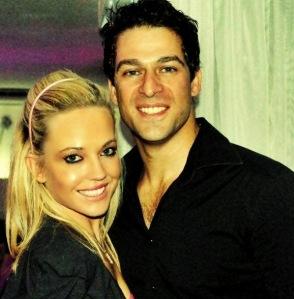 8ta Social Media Chick, JoanneBayvel & singer, actor 8ta ambassador Mano Castis