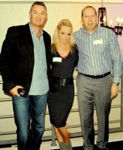Andrew, Steve and Jo