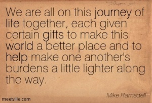 Quotation-Mike-Ramsdell-gifts-world-life-journey-help-Meetville-Quotes-260377