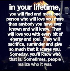 someday i will find you