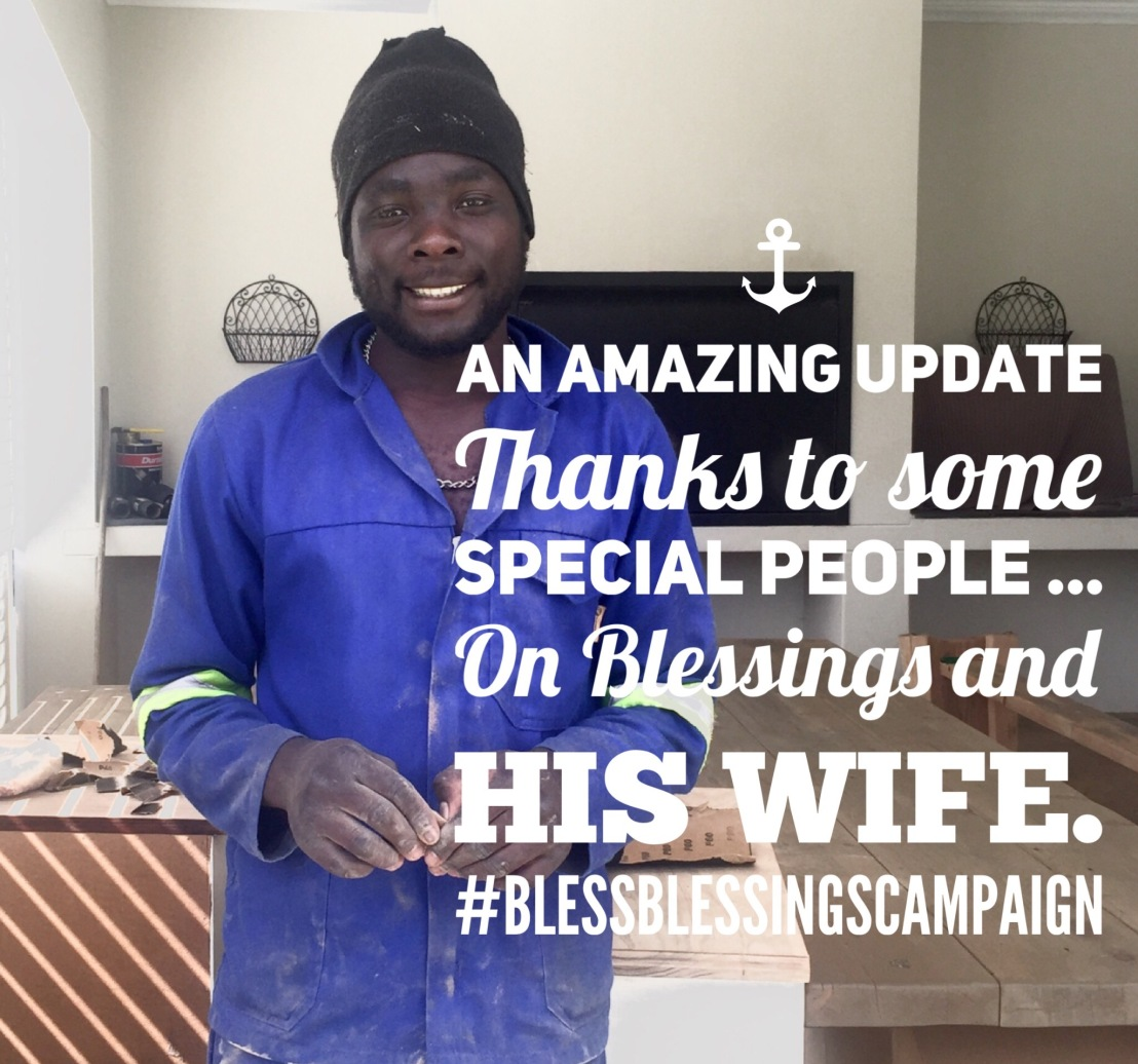 Another Update on #LetsBlessBlessings -We Did It.. Let's Carryon!!